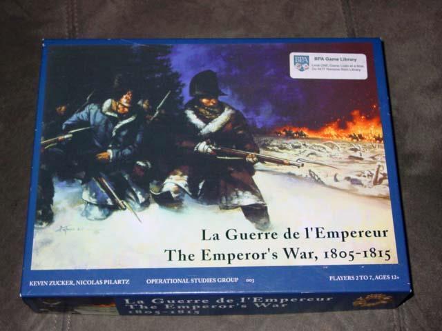 Operational Studies - La Guerre de l'Empereur - The Emperor's War (UNPUNCHED)