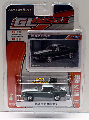 1:64  Greenlight Muscle Series 17 - 1967 Ford Mustang NICS