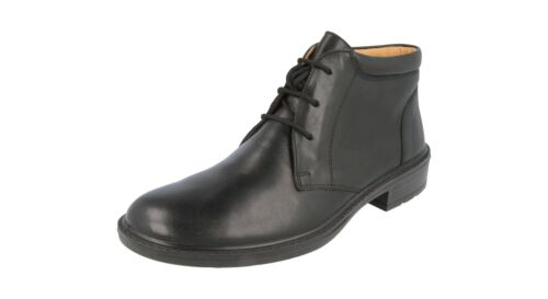Db Uk7 To ee Luke Negro Ancho Shoes Hombre Talla Fit Uk14 Botines En Muy 77UrP
