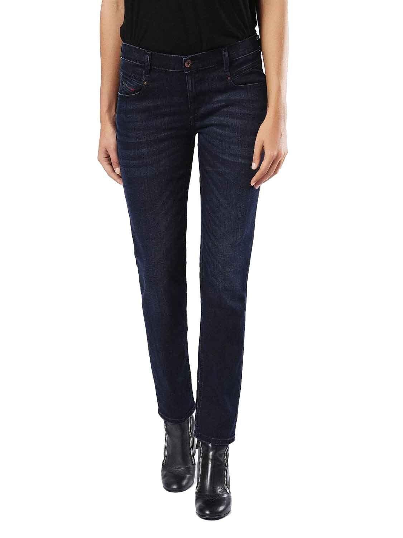 Diesel Belthy 0677J Jeans Pantaloni women Diritto Sottile