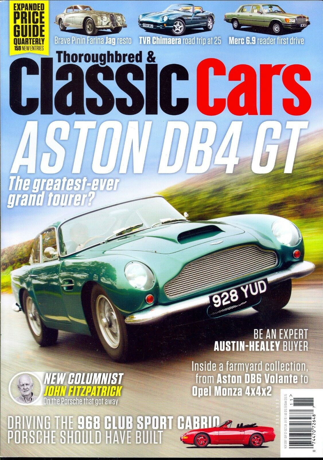 Thoroughbred & Classic Cars April 2017 Hot Convertibles | eBay