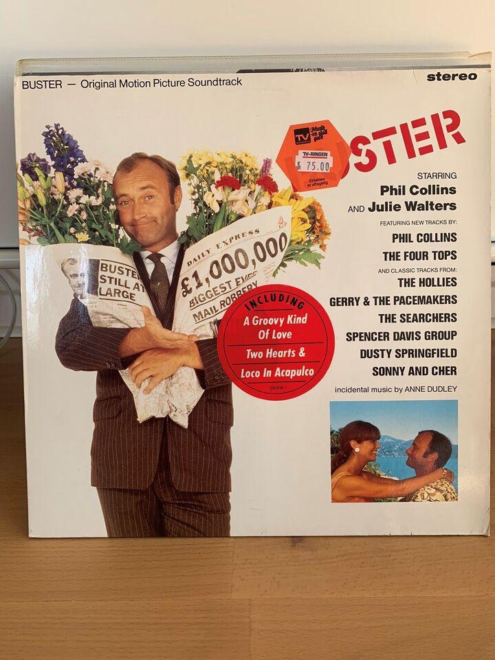LP, Phil Collins m.m, Buster