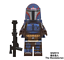 White-Boba-Fett-Mandalorian-Jango-Fett-Star-Wars-Series-Custom-Lego-Minifigures miniature 13