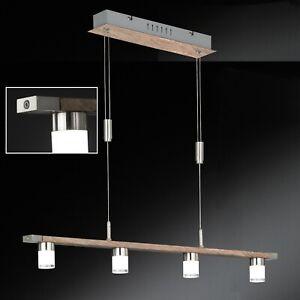 Esstisch-Lampe-LED-Holz-dimmbar-Touch-Dimmer-hoehenverstellbar-Esstisch-Leuchte