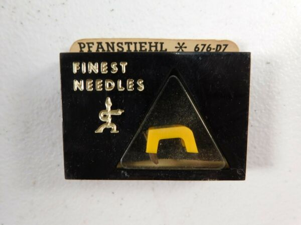 Nos Vintage Pfanstiehl Diamond Needle 676-d7 Replaces Trion N-39