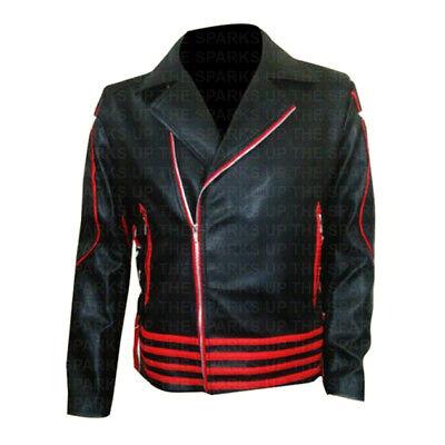 Hwear Freddie Mercury Ultimate Collection Chaqueta de Piel para Hombre