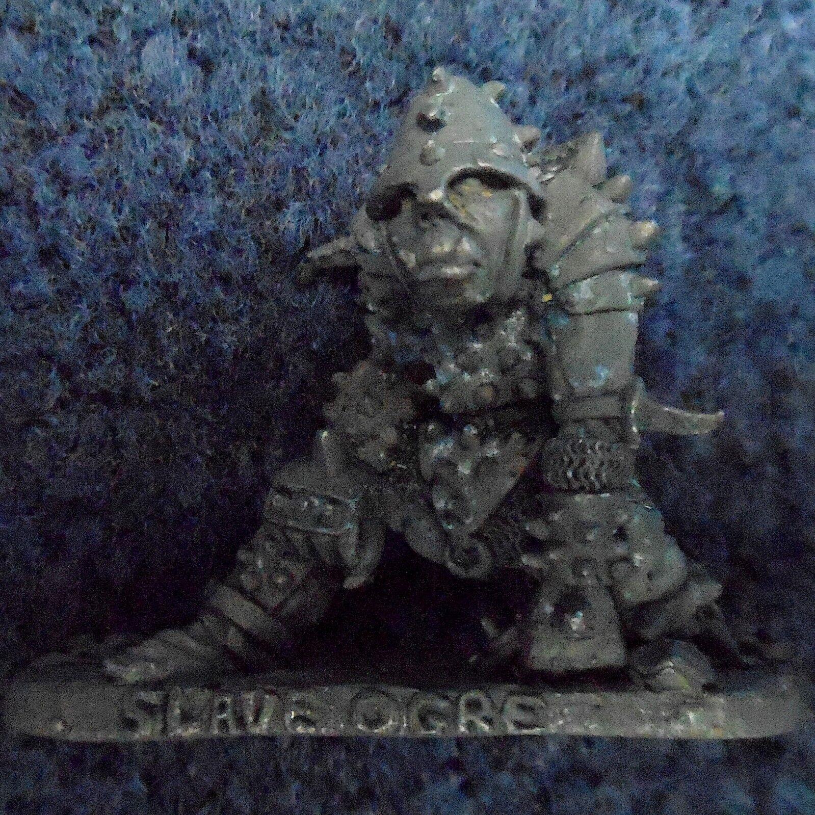 1984 Slave Ogre Ogre Ogre C23 Warhammer Armée Royaumes pré socle Games Workshop Ogryn ogor 8dfcf7
