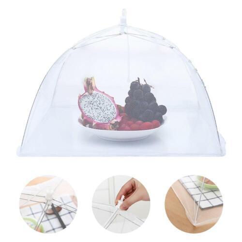 Inch Food Mesh Cover Folding Umbrella Dish Cover Umbrella Screen Tent Set 12
