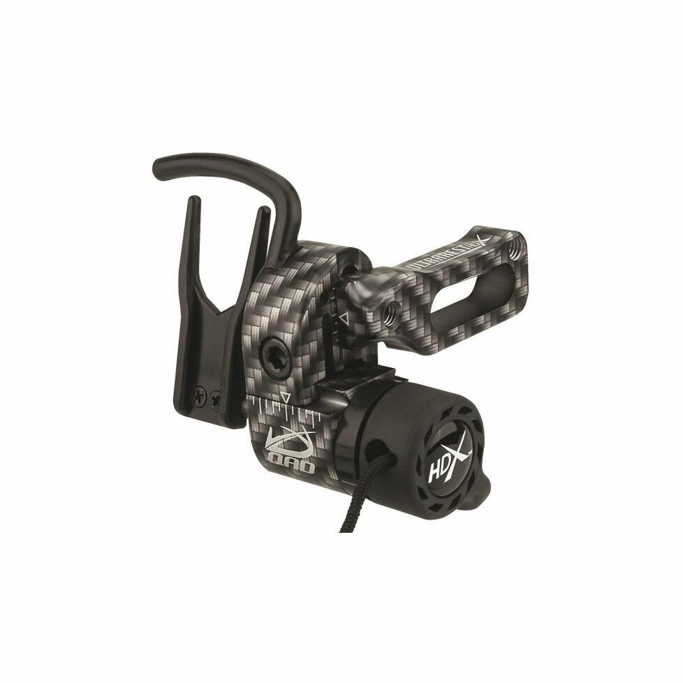 New QAD Ultra Rest HD X Black Right Hand Bow Rest Easy Adjust-Free ship