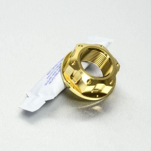 Pro-Bolt SS Axle Nut M22 x1.5 Rear Wheel Gold Hon VTR1000 SP2 RC51 02-05