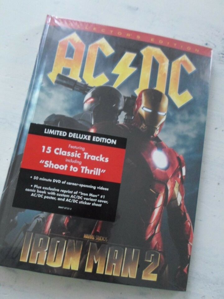 ACDC IRONMAN 2 - Collectors limited, Marvel & Ac/Dc,