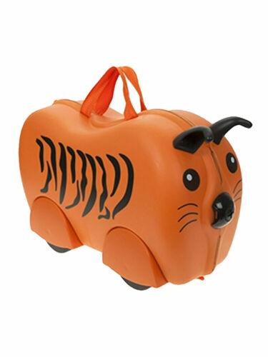 Kiddee Case Pack n Ride Valise sur roulettes Enfants Pull Animal Sac Voyage fun UK