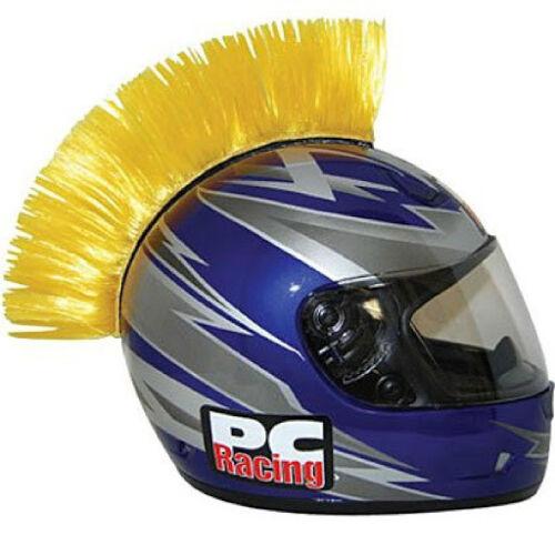 PC Racing Helmet Mohawk Yellow PCHMYELLOW