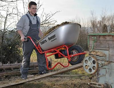 Gartengeräte Powerpac Ed120 Schubkarre Elektrodumper Elektrokarre 19 Grade Produkte Nach QualitäT Mutig Neu Mit RÜckwÄrtsgang