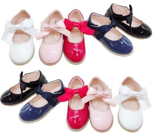Piatto Per Bambini Festa Party Matrimonio occasionalwear piatto ragazze bambini fiocco scarpe Sz