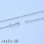 Multi-style-Classic-Real-925-Sterling-Silver-Chain-Necklace-SOLID-Jewelry-Italy thumbnail 27
