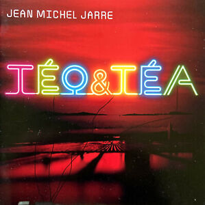 Jean-Michel-Jarre-CD-DVD-Teo-amp-Tea-Deluxe-Edition-Europe-EX-VG