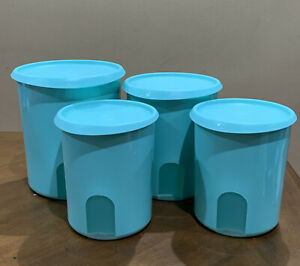 Tupperware One-Touch Canister Reminder Window 8 Cups B