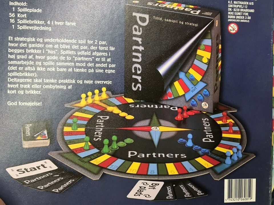 partners spil nye kort