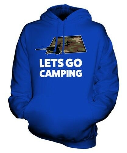 LETS GO CAMPING UNISEX HOODIE TOP GIFT GAMING
