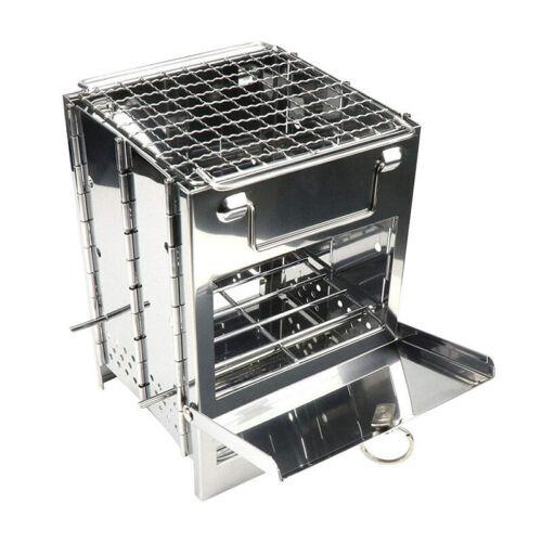 Picknick Campingkocher Ofen Tragbar Holzkohle Brenner Im Freien Sport 870 G