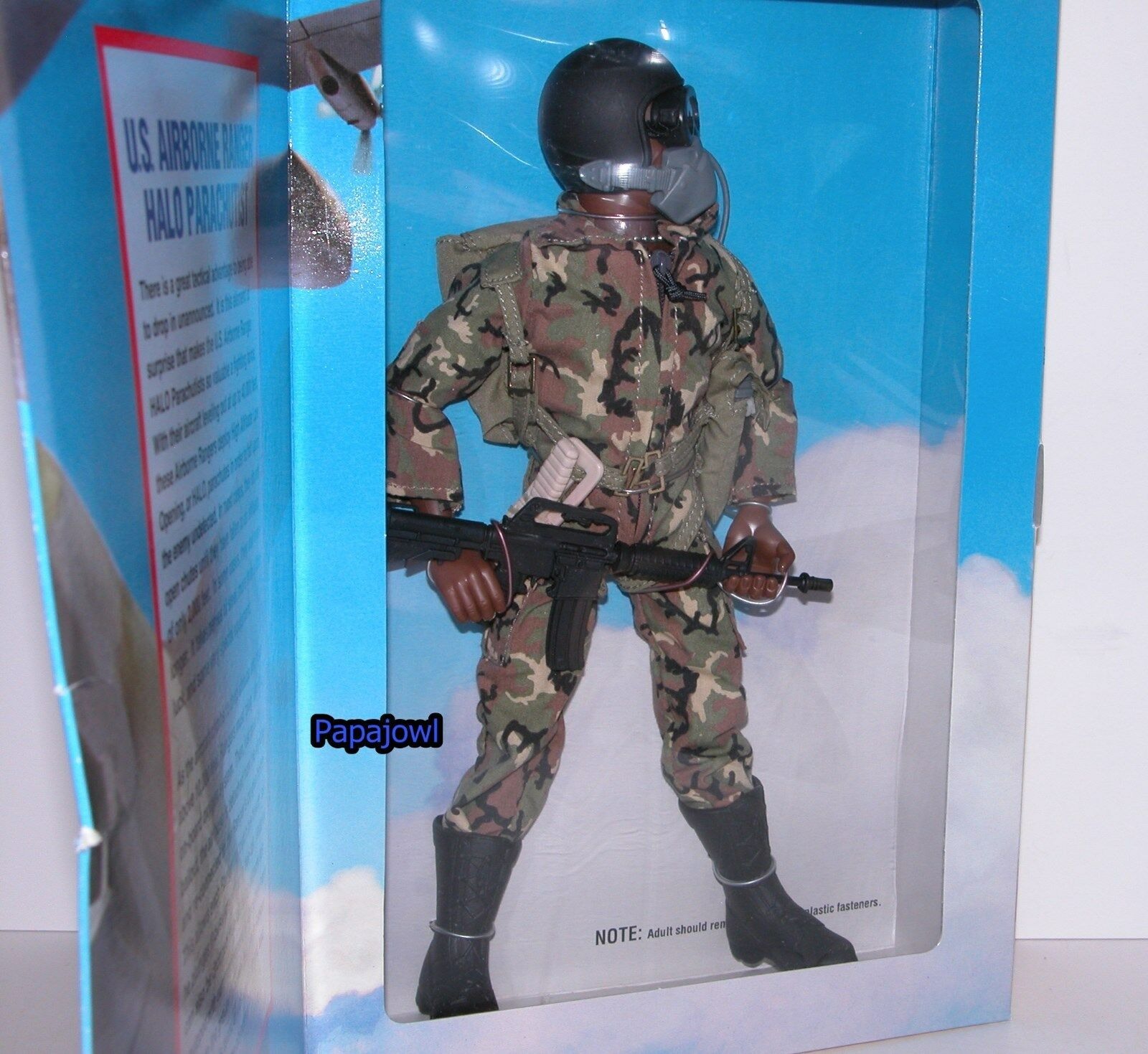 G.I. Joe U.S. Airborne Ranger Classic Collection Limited 1996 Harbro