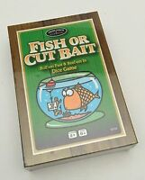 The Game Of Fish Or Cut Bait Dice Game New, Sealed 2+ Players Ages 8+