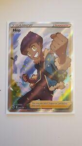 Hop 073//073 Ultra Rare Full Art Champions Path Pokemon Card NM