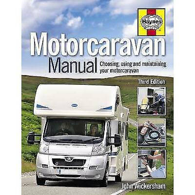 HAYNES MOTORCARAVAN MANUAL 3RD EDITION GUIDE MAINTENANCE MOTOR CARAVAN H5124 NEW