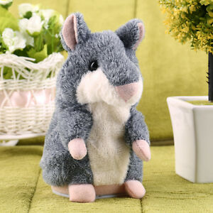 Hot-Speak-Talking-Record-Nod-Hamster-Mouse-Plush-Kids-Toy-Russian-Gift-SV