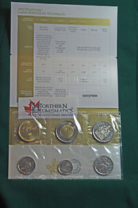 2018-Canada-Brilliant-Uncirculated-set-IN-STOCK-all-the-traditional-designs