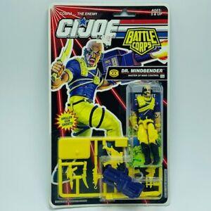 Gi Joe Cobra action figure vintage moc Hasbro 1992 Dr Mindbender battle corps 2