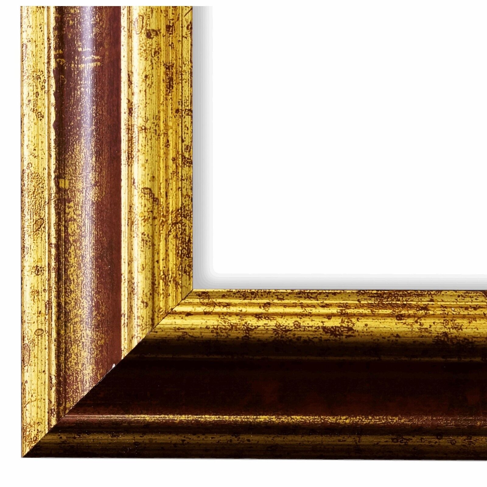 Bilderrahmen Rot Gold Antik Vintage Retro Bari 4,4 - NEU alle Größen
