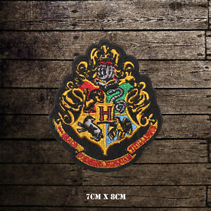 Hogwarts Rob TV Serial Comic Embroidered Iron on Patch Sew on Badge
