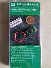 Uhlenbrock 76900 H0 Funktionsdecoder V7 DCC/MOT II mit Kabel NEUE AUSFUEHRUNG !!