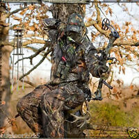Waterproof Outdoor Bionic Camo Hunting Clothes Sniper Ghillie Suit Jacket Pants