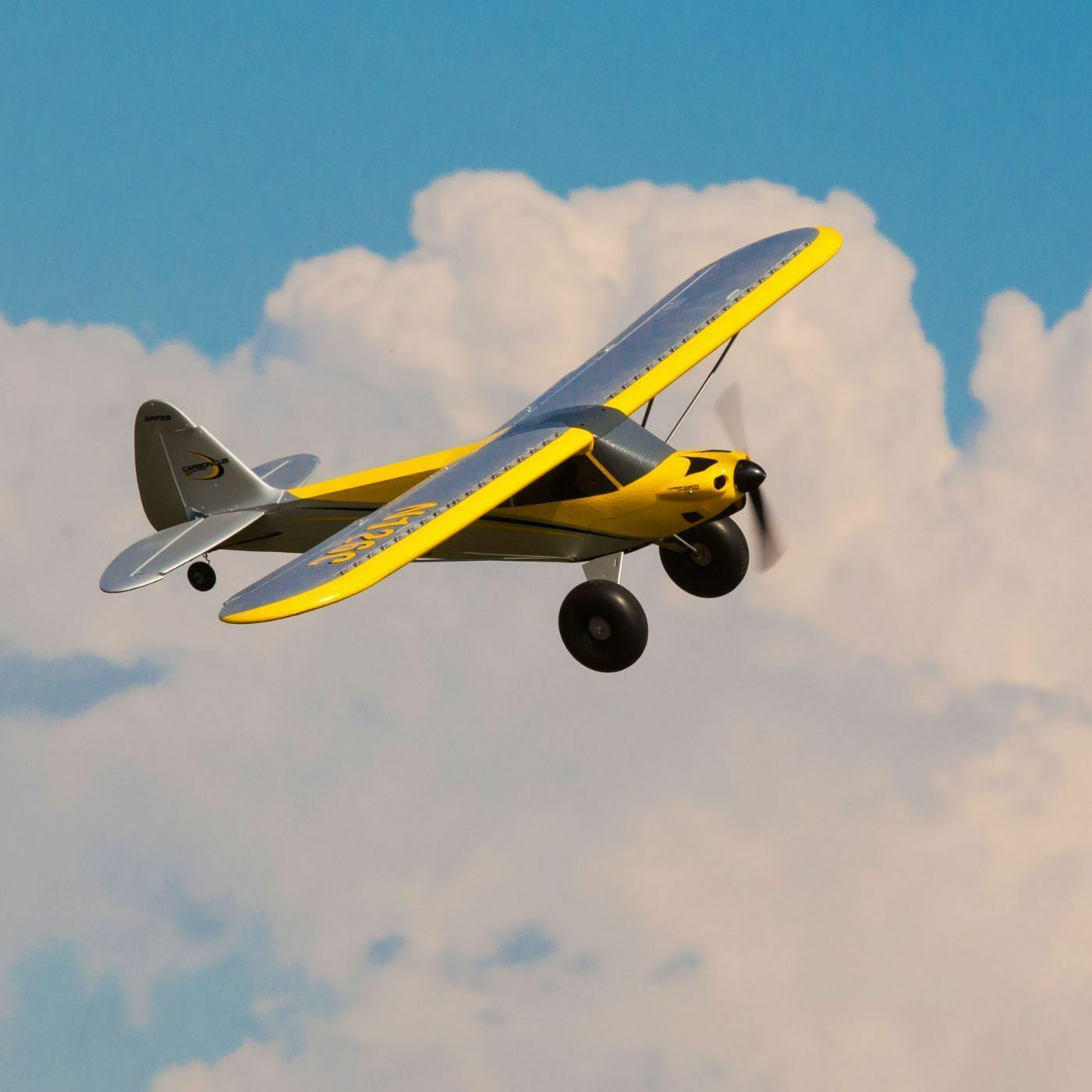 Carbon Cub S+ 1.3m Ready to Fly R C Airplane by HobbyZone HBZ3200