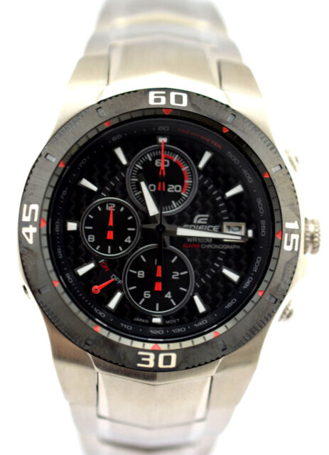 288ff4b2520c Casio Ef-514sp-1 Men Edifice Chronograph Multifunction Dial Steel ...