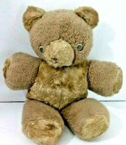 Antique-vintage-1945-15-034-Blonde-Jointed-Teddy-Bear-Mohair