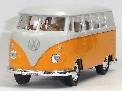 1962 VW Bus Bulli T1 grün Modellauto 1:37 Metall Spritzguss von WELLY Neuware!