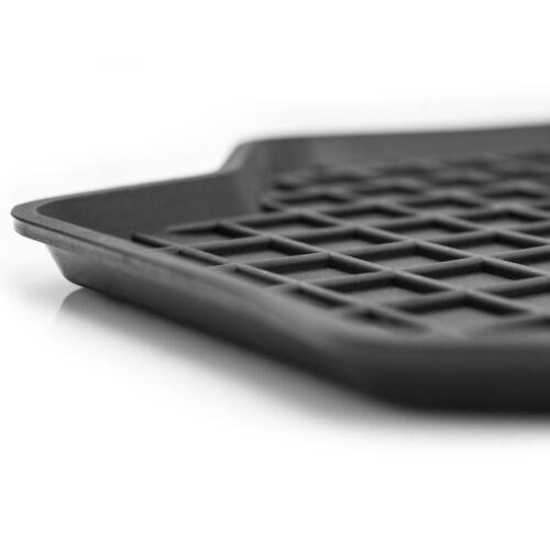 Bj. 1998-2015 4-teile Gummimatten Fußmatten 1.5 cm Rand PEUGEOT 206 ein Set