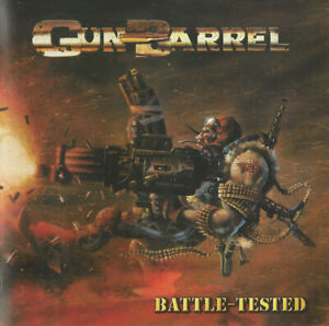 GUN-BARREL-Battle-Tested-CD-12-trks-FACTORY-SEALED-NEW-2003-LMP-Ger-IRON-SAVIOR
