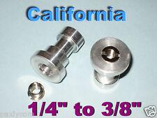 "New 1/4"" & 3/8"" Tripod screw to Umbrella Holder Adapter"