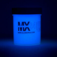 BLUE MX24 Extreme Glow in the Dark Paint Daytime Invisible Range 4oz