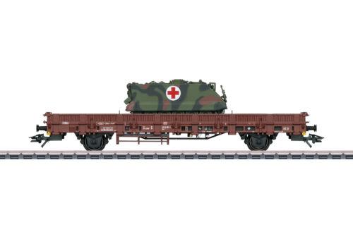 MÄRKLIN 48696 Rungenwagen Kbs 443 DB AG beladen mit Militär-Transportpanzer M113