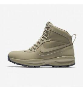 Nike-Manoadome-844358-200-Khaki-Tan-Grey-Men-039-s-Hiking-Trail-Work-Boots-NEW