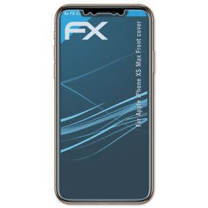 atFoliX-3x-Pellicola-Protettiva-per-Apple-iPhone-XS-Max-Front-cover-chiaro