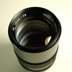 Yashica 135mm F2.8 ML Lens. Contax/Yashica Mount. READ DESCRIPTION.