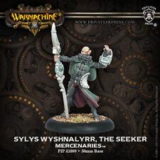 Warmachine: Mercenaries Sylys Wyshnalyrr, The Seeker PIP 41089 NEW