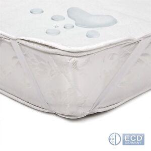Matratzenschoner om 100% Baumwolle Matratzenauflage Matratzenschutz Betteinlage